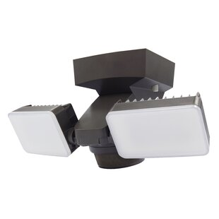 2 Head LED Outdoor Floodlight By IQ America Outdoor Lighting
