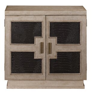 Geometric Panel 2 Door Chest by Pulaski Furniture