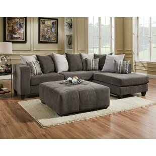 Wade Logan Piedmont Sectional with Ottoman