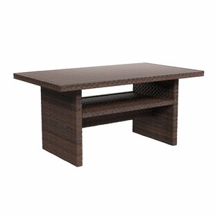 Bay Isle Home Tequesta Wicker Dining Table