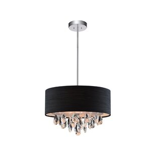 Rosdorf Park Manuel 3-Light Drum Pendant