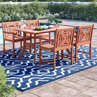 Hershman 5 Piece Dining Set by Sol 72 Out..