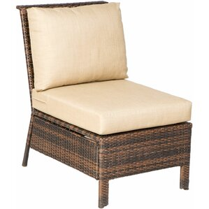 houpt deep seating sectional armless chair with cushion