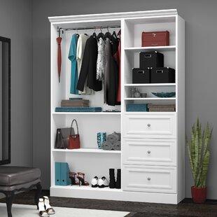 Affordable Billington 60.8W Closet System ByThree Posts