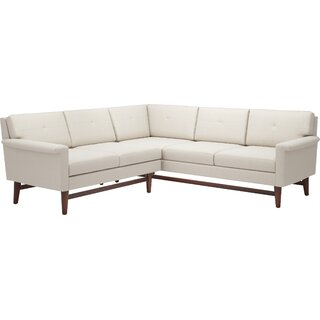 "Diggity 113"" x 91"" Corner Sectional Sofa by TrueModern SKU:DB473402 Shop"