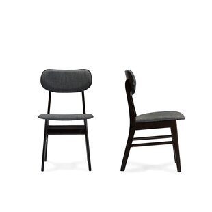 Connie Upholstered Dining Chair (Set Of 2) by Wrought Studio Today Sale Only