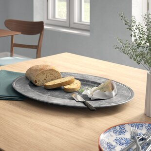 Avola Pewter Oval Melamine Platter