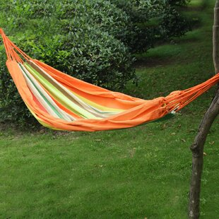 Adeco Trading Hanging Suspended Tree Hammock with Stand