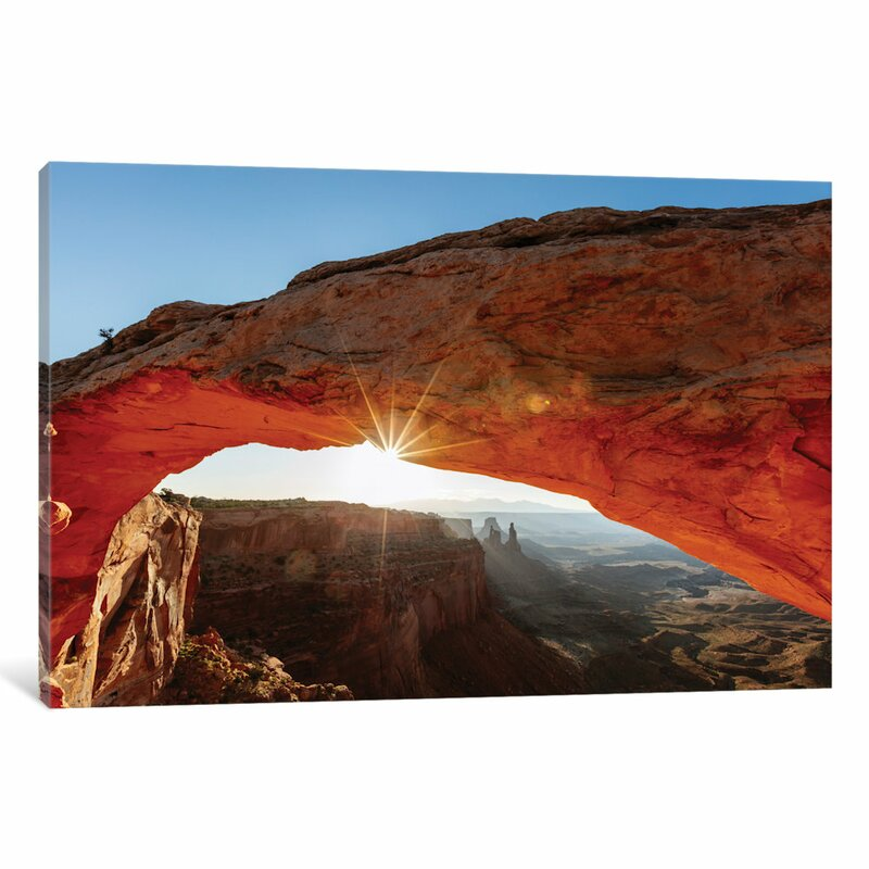 East Urban Home Mesa Arch At Sunrise Ii Canyonlands National Park Utah Usa Photographic Print On Wrapped Canvas Reviews Wayfair