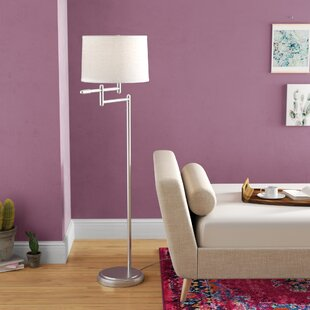 Compare Tchantches 60 Swing Arm Floor Lamp By Mercury Row
