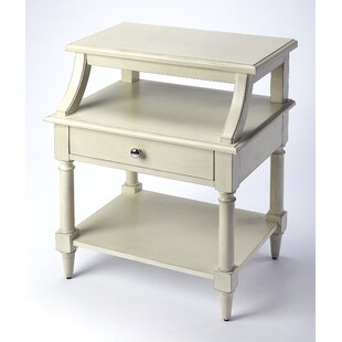 Kasandra End Table with Storage by One Allium Way