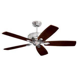 Huemiller 5 Blade Ceiling Fan with Remote by Longshore Tides