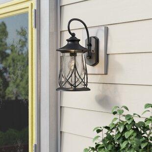 Bungalow Rose Pembroke 1-Light Outdoor Wall Lantern