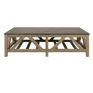 Silas Slatted Wooden Coffee Table Foundry Select