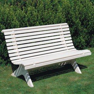 Lund Wooden Bench Image