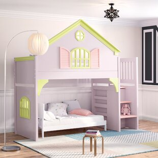 girls bunk beds you ll love wayfair rh wayfair com