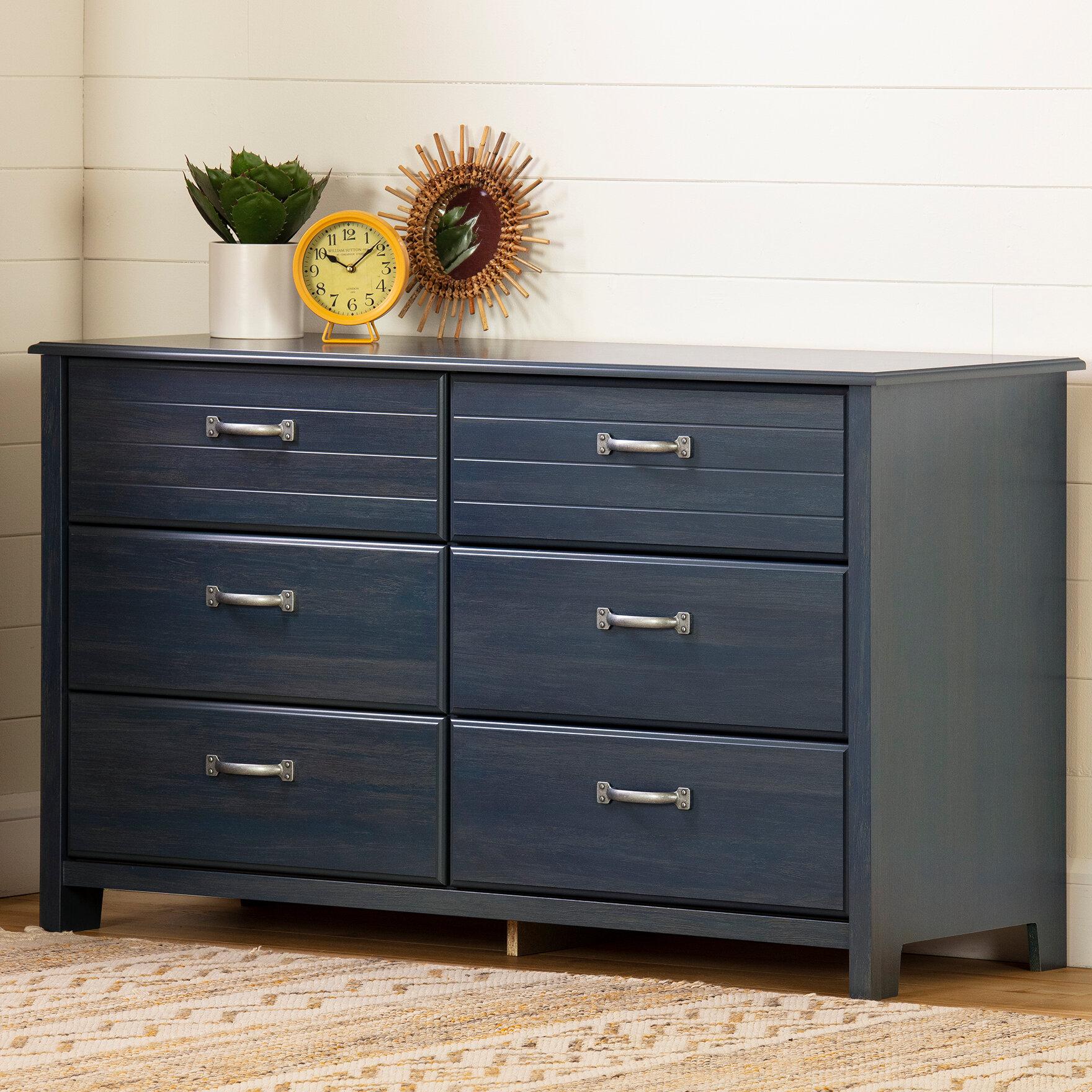 Asten 6 Drawer Double Dresser