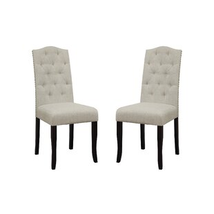 Alcott Hill Murray Upholstered Dining Chair (Set of 2)