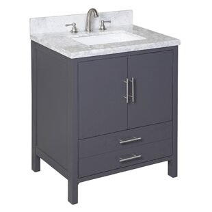 California 30 Single Bathroom Vanity Set by Kitchen Bath Collection