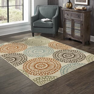 Blue Ivory Cream Area Rugs Free Shipping Over 35 Wayfair