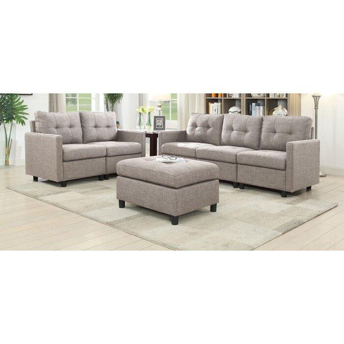 Weybridge 3 Piece Living Room Set