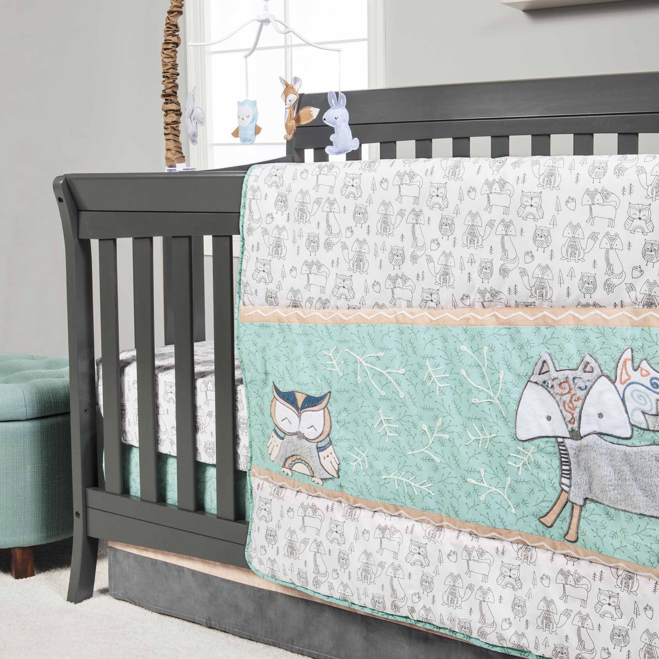 Harriet Bee Vella 3 Piece Crib Bedding