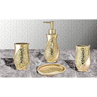 Find for Rivet 4 Piece Bathroom Accessory Set ByWilla Arlo Interiors