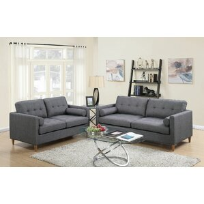 Ivy Bronx Engelhardt 2 Piece Living Room Set Image