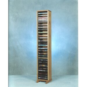 100 Series 64 DVD Multimedia Storage Rack by Wood Shed