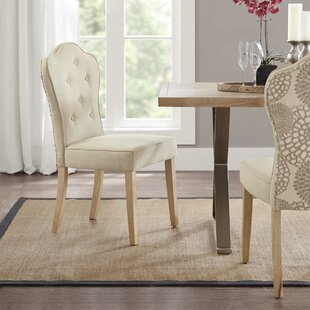 Mapleville Upholstered Dining Chair (Set of 2) Gracie Oaks