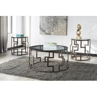 Brayden Studio Bolte 3 Piece Coffee Table Set