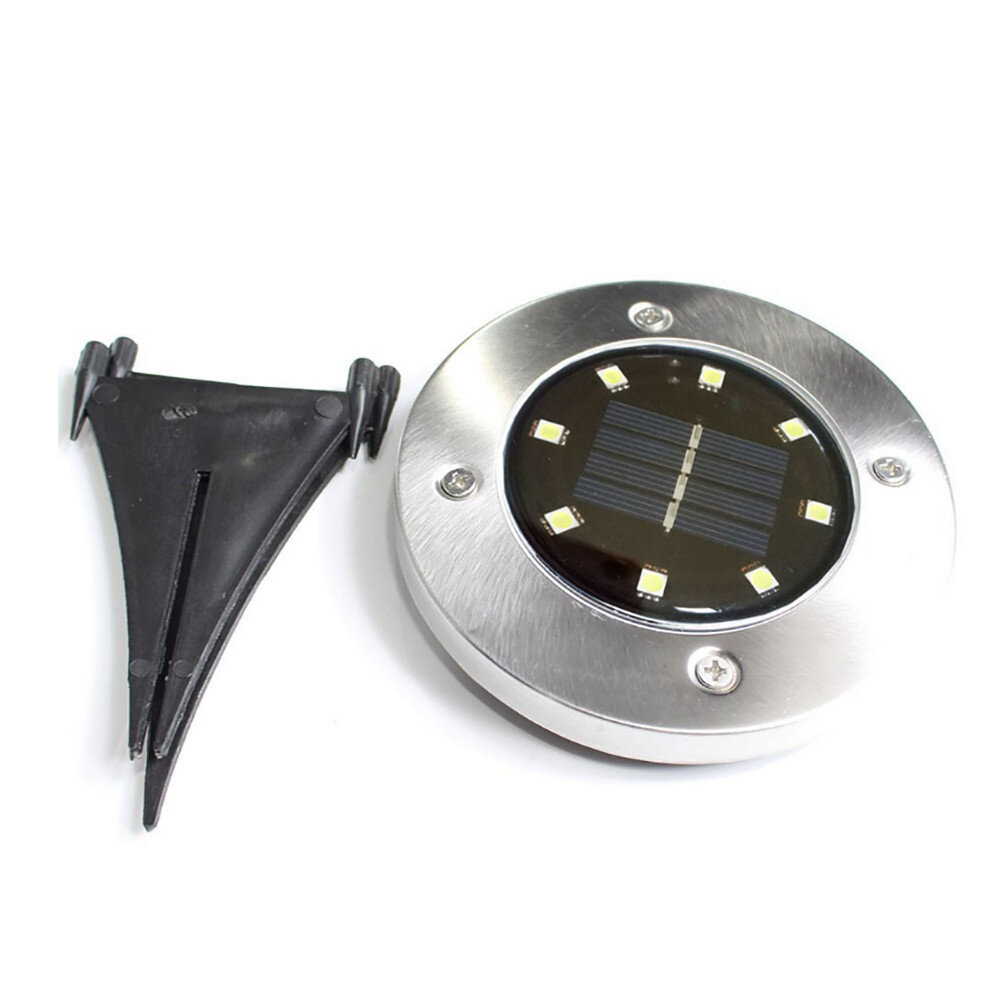 Tren Black Low Voltage Solar Powered Integrated Led Well Light Wayfair