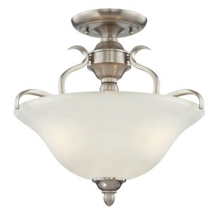 Pottersmoor 3-Light Semi Flush Mount by Darby Home Co