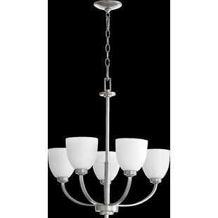 Alcott Hill Mattias 5-Light Shaded Chandelier