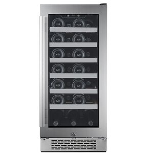 27 Bottle Single Zone Built-In Wine Cooler by Avallon