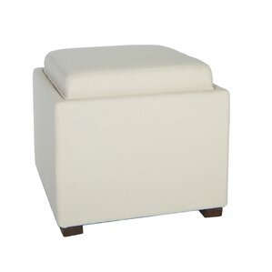 Cortesi Home Mavi Storage Ottoman