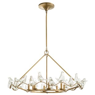 Dove 8-Light Chandelier by ARTERIORS
