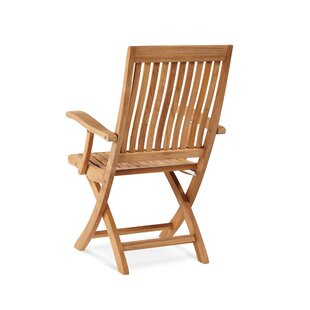 Godfrey Folding Teak Patio Dining Chair