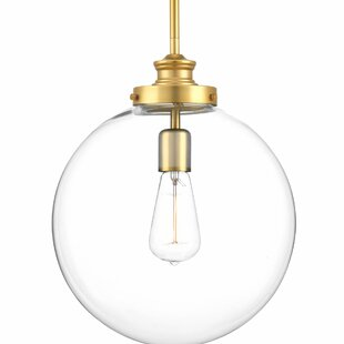 Globe pendant lights youll love wayfair cayden metal 1 light pendant aloadofball Gallery
