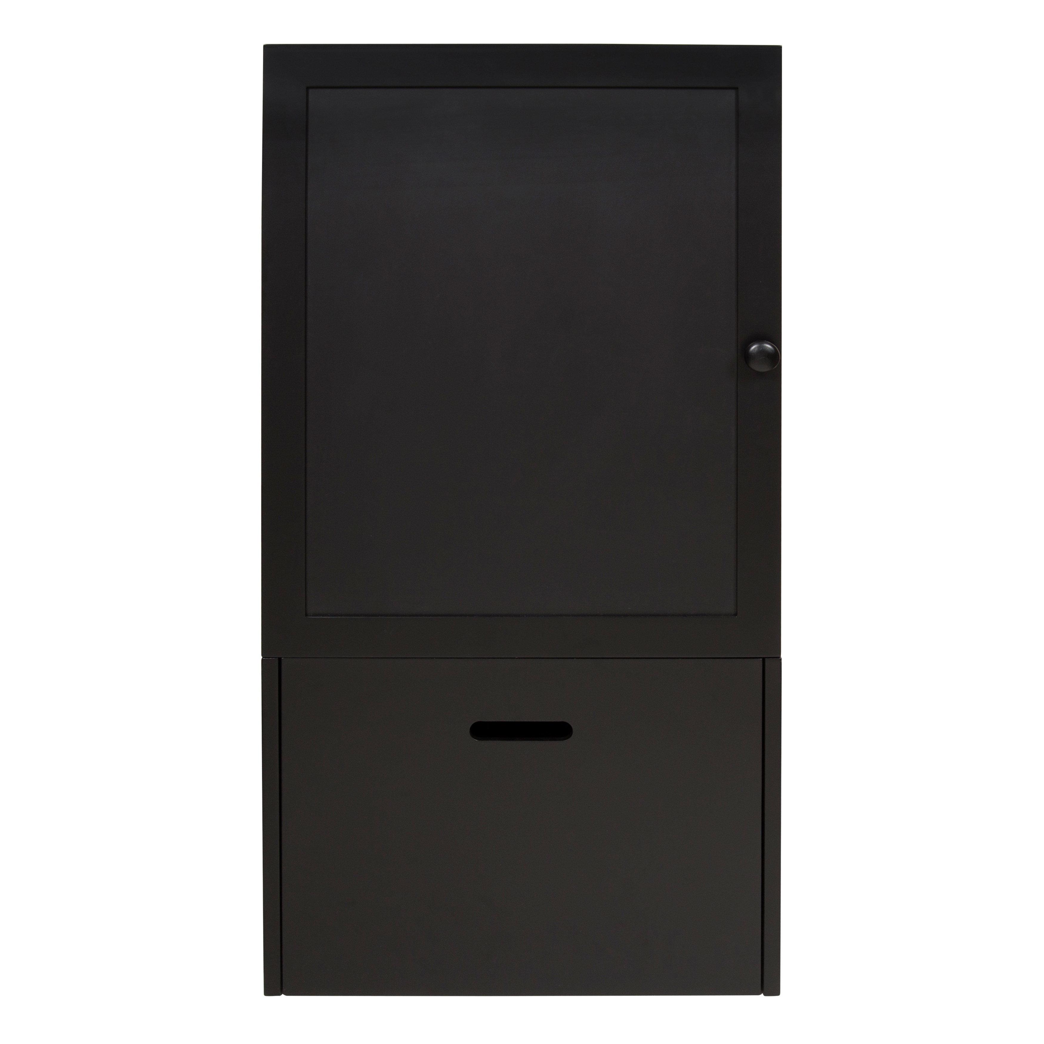 Gracie Oaks Zonia Storage Cabinet Wall Function Organizer