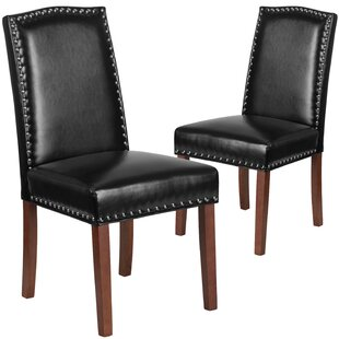 Orland Solid Wood Parsons Dining Chair (Set of 2) by Charlton Home Office Furniture