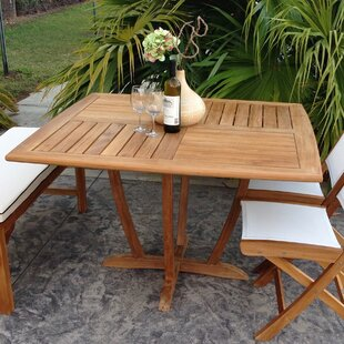 Freeport  Solid Wood Dining Table By Bay Isle Home