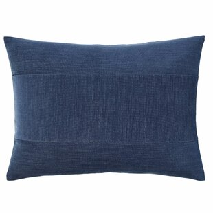 Akira Pieced Stripe Velvet Lumbar Pillow