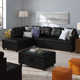 Winston Porter Faunce Sectional with Otto..