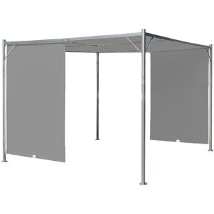 Bova 2.25m X 3m X 3m Steel Pergola By Sol 72 Outdoor
