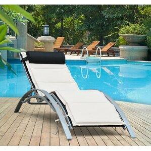 Sun Lounger with Cushion & Sun Loungers | Wayfair.co.uk islam-shia.org