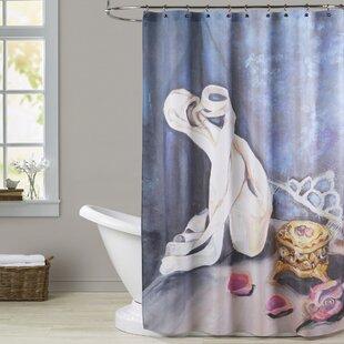 Tess Still Life Single Shower Curtain