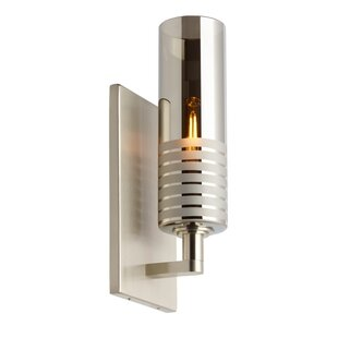 Orren Ellis Percival 1-Light Armed Sconce