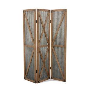 Affordable Cressida 3 Panel Room Divider ByGracie Oaks