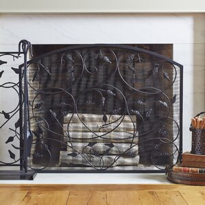french fireplace screens. Peterson Fireplace Screen French Country Screens You ll Love  Wayfair